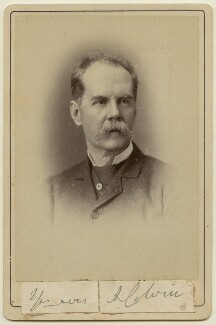 Sir Auckland Colvin, by Unknown photographer - NPG x197284