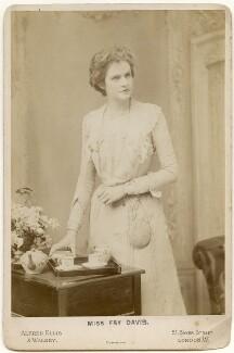 Fay Davis, by Alexander Corbett, for  Alfred Ellis & Walery - NPG x197290