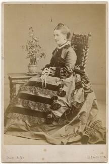 Fanny Georgina Edlmann (née Elliot), by Elliott & Fry - NPG x197300