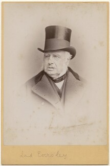 Charles Shaw-Lefevre, Viscount Eversley, by Hennah & Kent, circa 1880s - NPG x197301 - © National Portrait Gallery, London