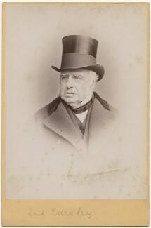 Charles Shaw-Lefevre, Viscount Eversley, by Hennah & Kent, circa 1880s - NPG x197301 - © National Portrait Gallery, London