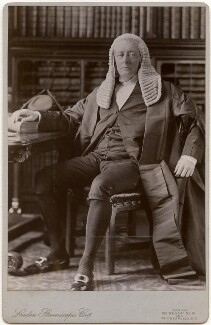 William Court Gully, 1st Viscount Selby, by London Stereoscopic & Photographic Company - NPG x138924