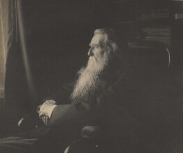 John Ruskin, by Frederick Hollyer - NPG P1974