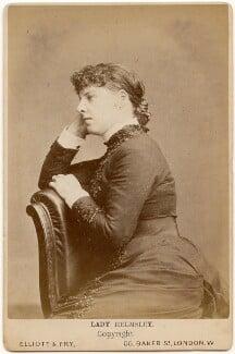 Muriel Frances Louisa Duncombe (née Talbot), Viscountess Helmsley (later Mrs Owen), by Elliott & Fry - NPG x197316