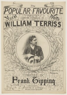 William Terriss (William Charles James Lewin), printed by Bemrose & Sons, published by  Riviere & Hawkes, after  George Mitchell - NPG D42814