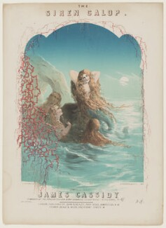 'The Siren Galop', by Alfred Concanen, and by  Thomas Wales Lee, printed by  Stannard & Dixon, published by  John Blockley, and published by  Cramer, Beale & Wood - NPG D42816