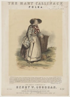 Mary Callinack (Kelynack), by N. Plusgenski, printed by  Stannard & Dixon, published by  Addison & Hollier - NPG D42817