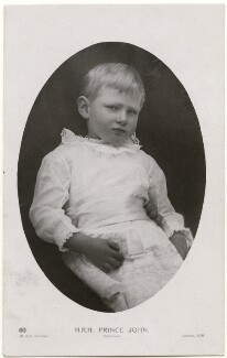 Prince John, by W. & D. Downey - NPG x138940