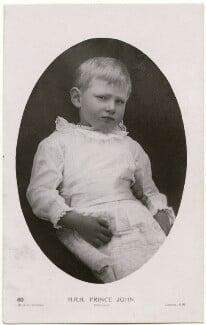 Prince John, by W. & D. Downey, 1908 - NPG x138940 - © National Portrait Gallery, London