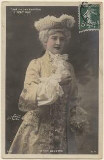 Mademoiselle Ginette in 'Le Petit Duc', by Paul Boyer - NPG x138916