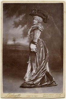 Lillie Langtry as Marie Antoinette in 'The Royal Necklace', by Lafayette - NPG x197327