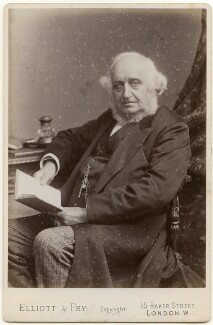 Sir George Job Elvey, by Elliott & Fry - NPG x138958