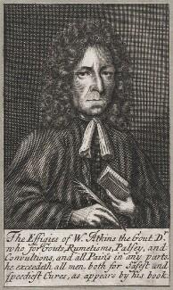 William Atkins, possibly by Frederick Hendrik van Hove - NPG D42983