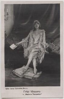 Fritzi Massary in 'Madame Pompadour', by Ernst Schneider - NPG x138945