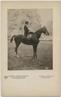 Princess Victoria of Wales, by Queen Alexandra, published by  A.V.N. Jones & Co - NPG x197335