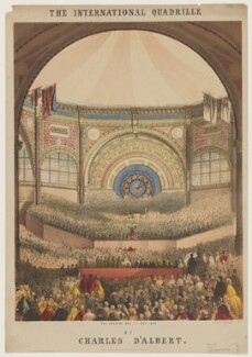 The International Exhibition, 1862 ('The International Quadrille'), by John Brandard, printed by  M & N Hanhart - NPG D42824