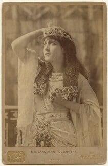 Lillie Langtry as Cleopatra, by Henry Van der Weyde - NPG x197343