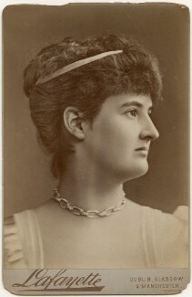 Hermione Wilhelmina Fitzgerald (née Duncombe), Duchess of Leinster, by Lafayette - NPG x197347