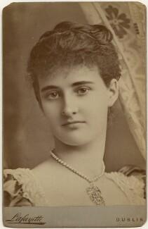 Hermione Wilhelmina Fitzgerald (née Duncombe), Duchess of Leinster, by Lafayette - NPG x197348