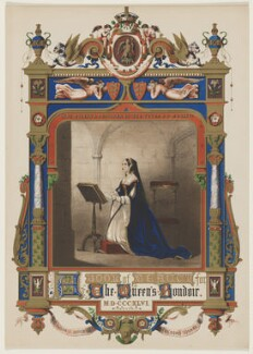 Anne Boleyn, published by Charles Jefferys, after  Unknown artist - NPG D42828