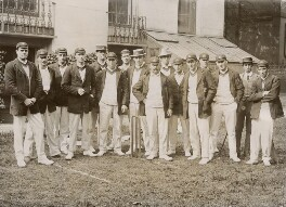'Australian Cricketers', by Unknown photographer - NPG x197351