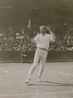 Bill Tilden, by Unknown photographer, circa 1920 - NPG  - © National Portrait Gallery, London