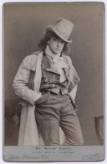 Sir John Martin-Harvey as Sydney Carton in 'The Only Way', by London Stereoscopic & Photographic Company - NPG x197366