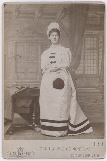 Violet Hermione (née Graham), Duchess of Montrose, by Alexander Bassano - NPG x197370