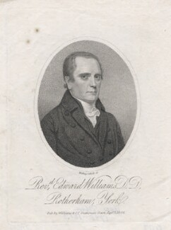 Edward Williams, by Ridley & Holl, published by  Williams - NPG D43003