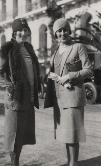 Etty Beaton; Jane Pamela (née Clarke), Lady Stewart-Clark, by Cecil Beaton - NPG x135894
