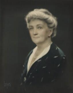 Beatrix Frances Gertrude (née Herbert), Countess of Wicklow, by Lenare - NPG x139543
