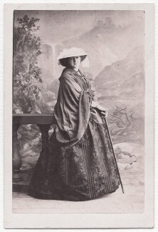 Henrietta Blanche (née Stanley), Countess of Airlie, by Camille Silvy - NPG x139583