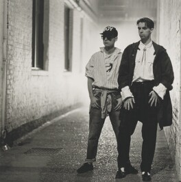 Pet Shop Boys (Chris Lowe; Neil Tennant), by Eric Watson - NPG x139586