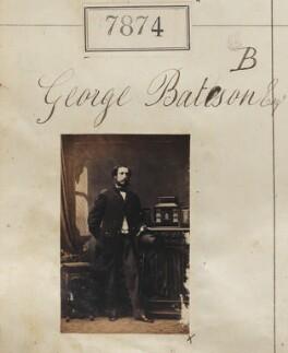 George William de Yarburgh-Bateson, 2nd Baron Deramore, by Camille Silvy - NPG Ax57713