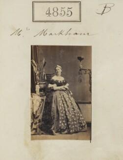 Anne Emily Sophia ('Daisy') Markham (née Grant), by Camille Silvy - NPG Ax54863
