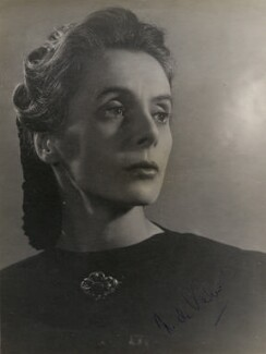 Ninette de Valois, by Gordon Anthony - NPG x194343