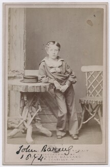 John Baring, 2nd Baron Revelstoke, by Alexander Bassano - NPG x197379