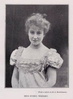 Ethel Wright, after Hayman Seleg Mendelssohn, circa 1896 - NPG  - © National Portrait Gallery, London