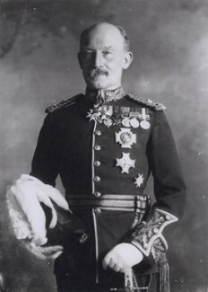 Robert Baden-Powell, by Bassano Ltd - NPG x139622