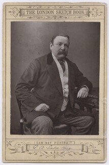 George Augustus Sala, by Unknown photographer, printed by  William Wright - NPG x197387