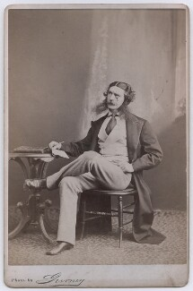 Edward Askew Sothern as Lord Dundreary in 'Our American Cousin', by Benjamin Gurney - NPG x197389