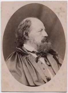 Alfred, Lord Tennyson, by John Jabez Edwin Mayall - NPG x197394