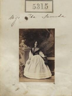 Ada Bertha D'Aguilar Samuda, by Camille Silvy - NPG Ax55275