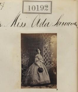 Ada Bertha D'Aguilar Samuda, by Camille Silvy - NPG Ax59907