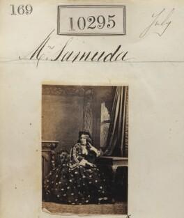 Probably Louisa Samuda (née Ballin), by Camille Silvy - NPG Ax60009