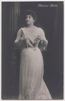 Nellie Melba, by H. Walter Barnett - NPG x197401