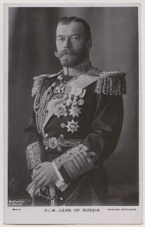 Nicholas II, Emperor of Russia, by Boissonnas & Eggler, published by  J. Beagles & Co - NPG x197403