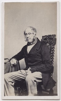 Henry John Temple, 3rd Viscount Palmerston, by John Cann - NPG x139652