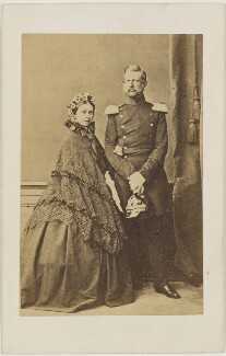 Victoria, Empress of Germany and Queen of Prussia; Frederick III, Emperor of Germany and King of Prussia, by L. Haase & Co - NPG x139660