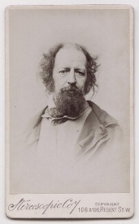 Alfred, Lord Tennyson, by London Stereoscopic & Photographic Company - NPG x139663